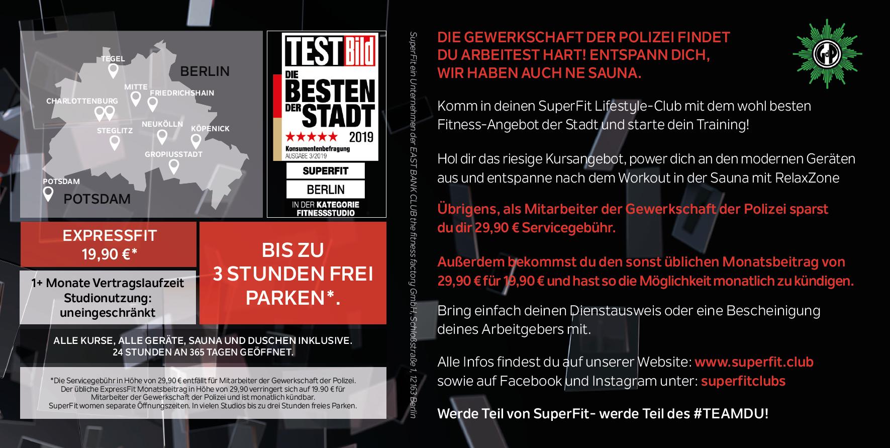 hueco Negrita Persona enferma  SUPERFIT für 19,90 € | gdp-service.berlin